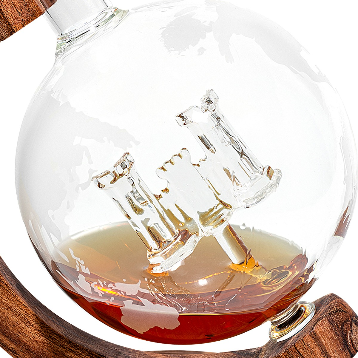 Closeup Army Corps of Engineers Decanter