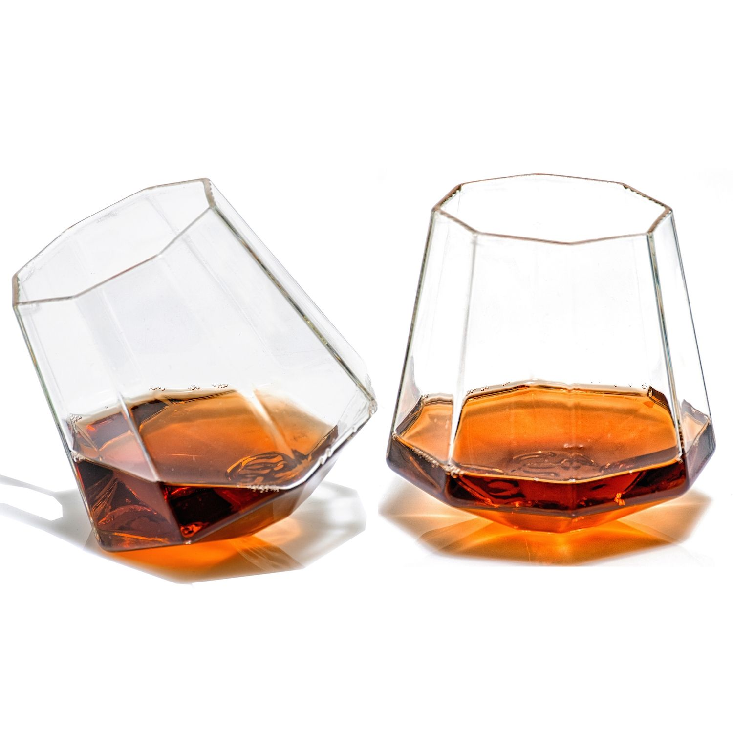 Diamond Shaped Whiskey Glasses Unique Whiskey Glasses