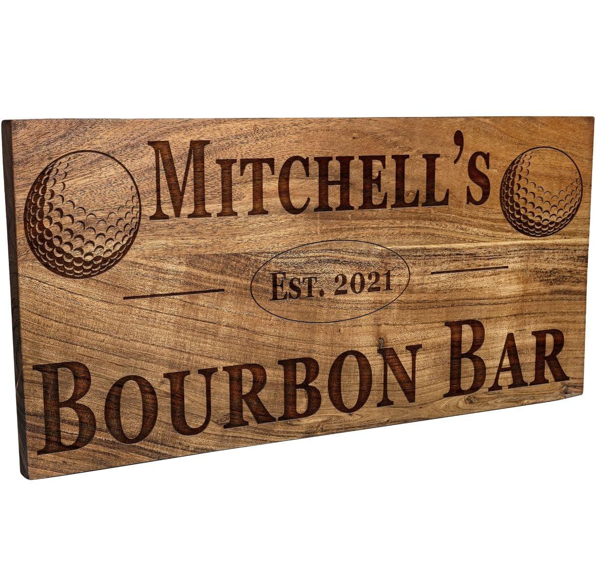 Golfer Bar Sign