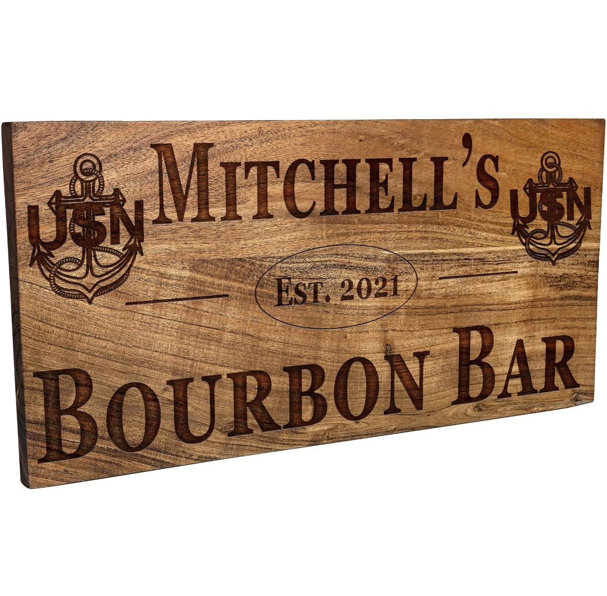 Navy Bar Sign