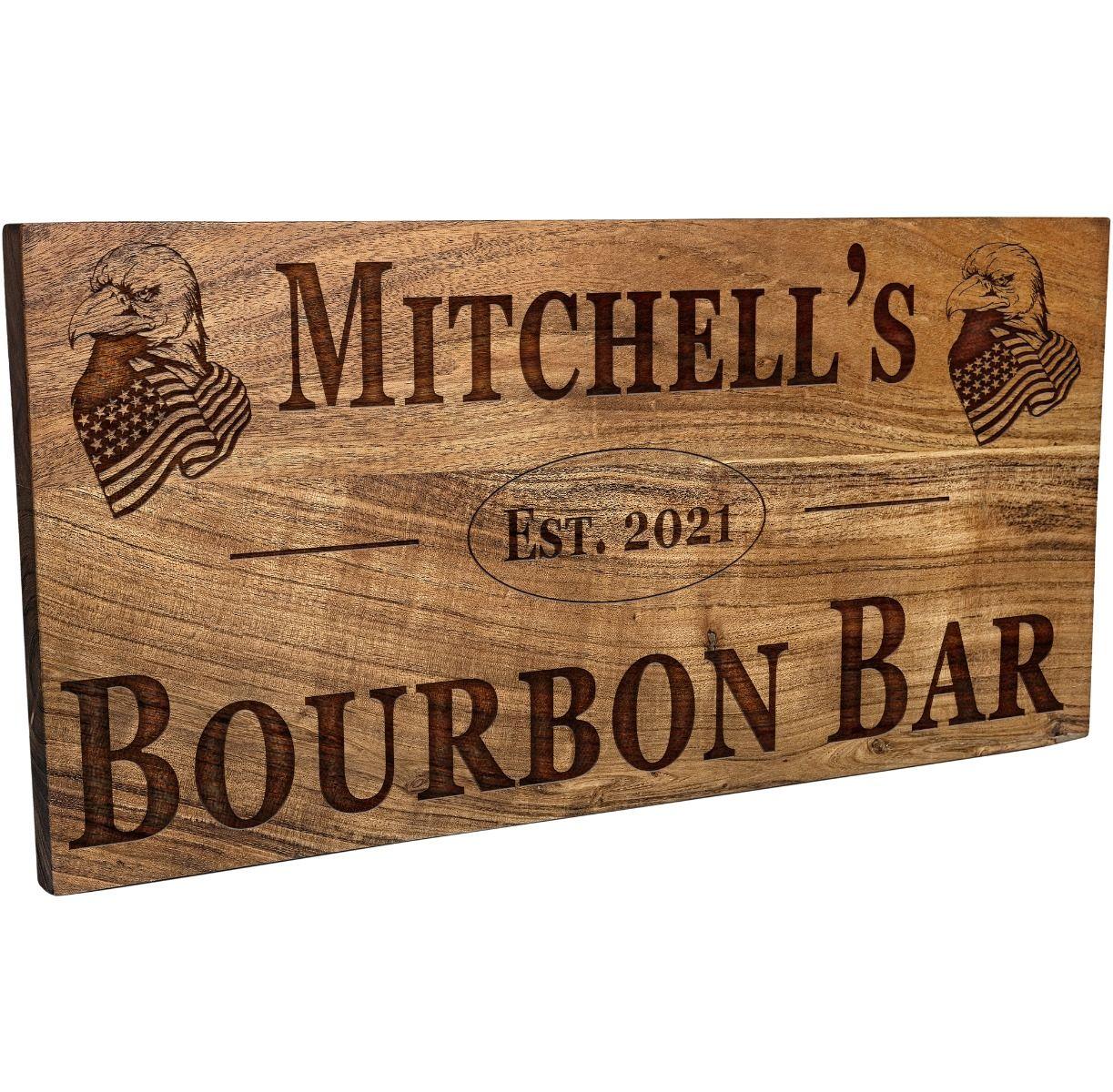 American Eagle Bar Sign