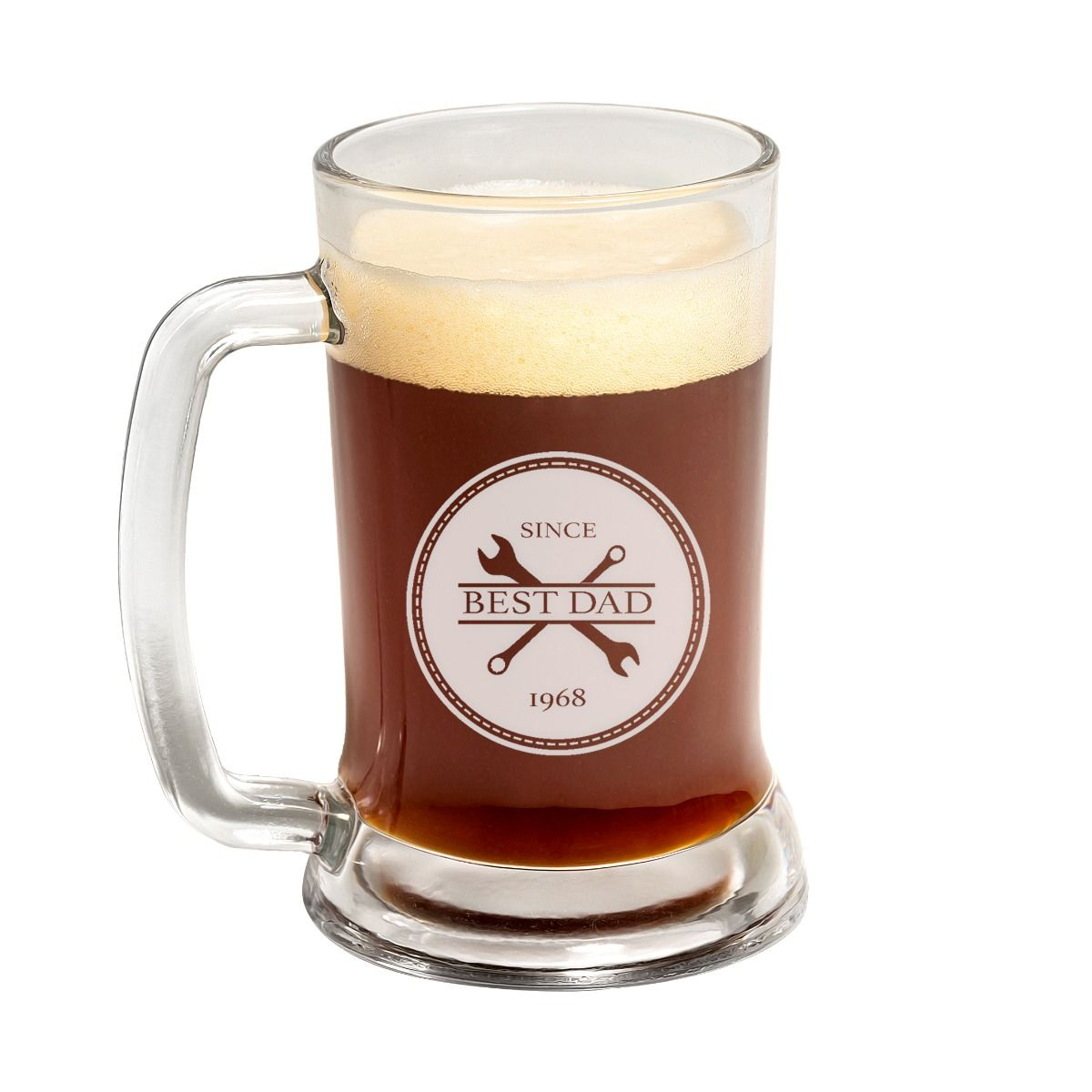 Best Dad Father's Day Beer Mug