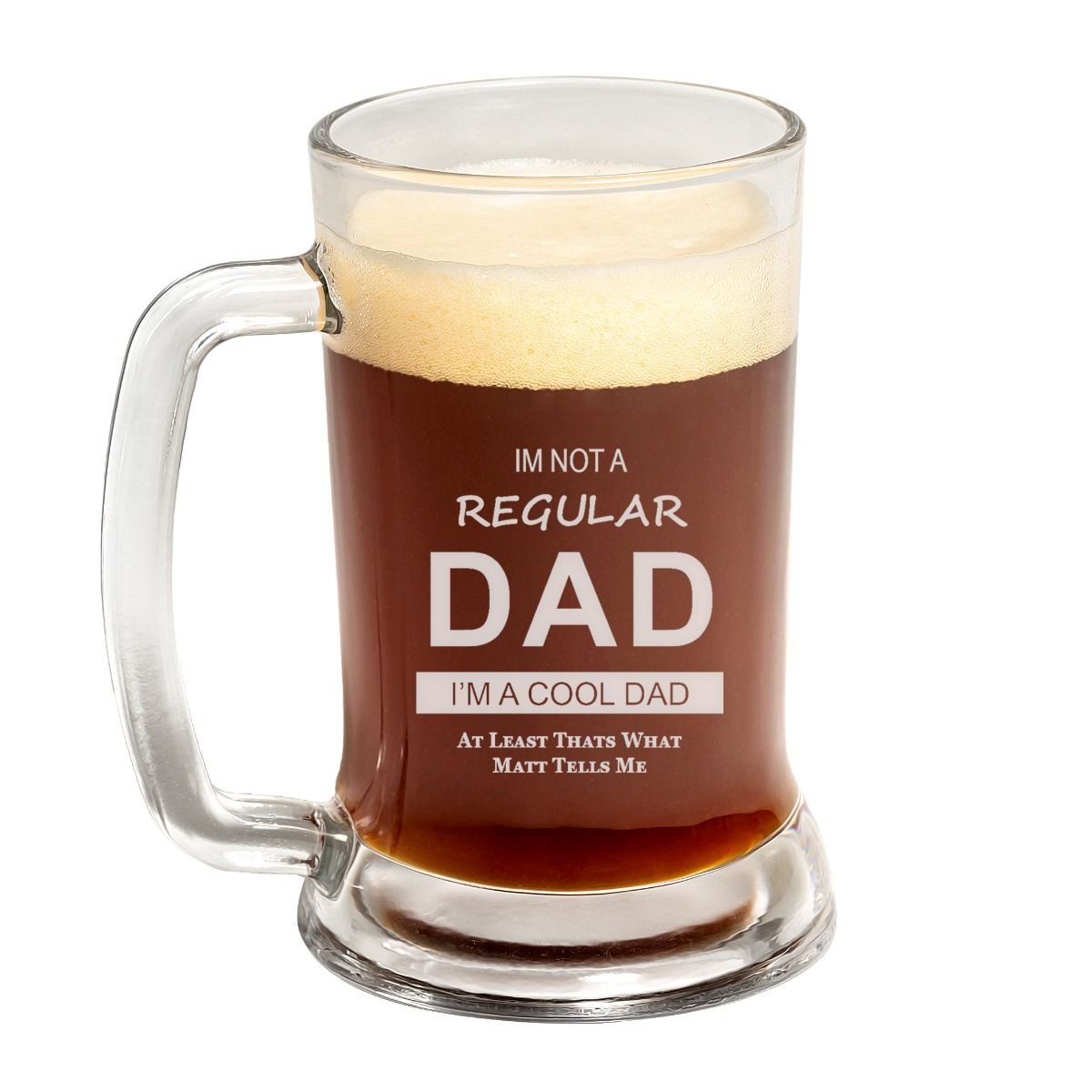 Cool Dad Father's Day Beer Mug