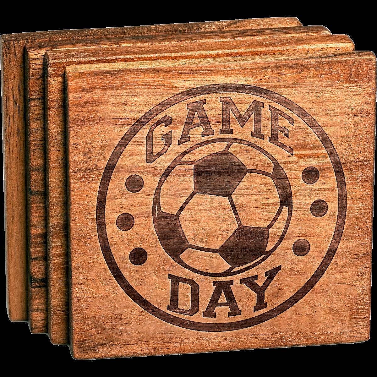 Soccer Game Day Coaster Set