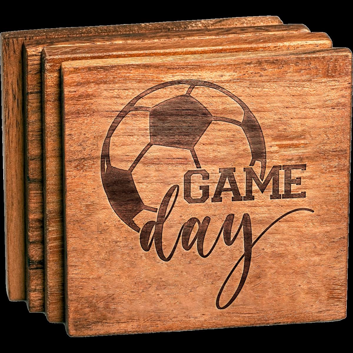 Soccer Gamer Day V2 Coaster Set