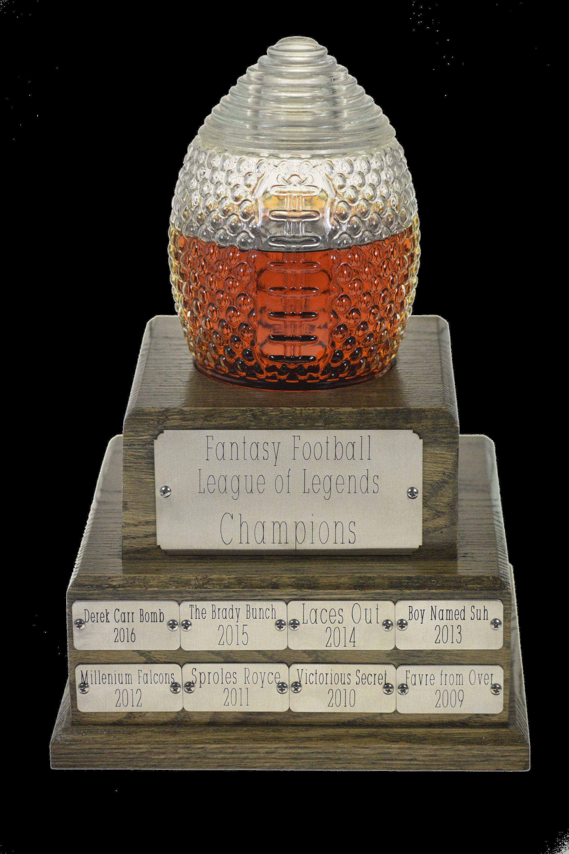 Fantasy football decanter