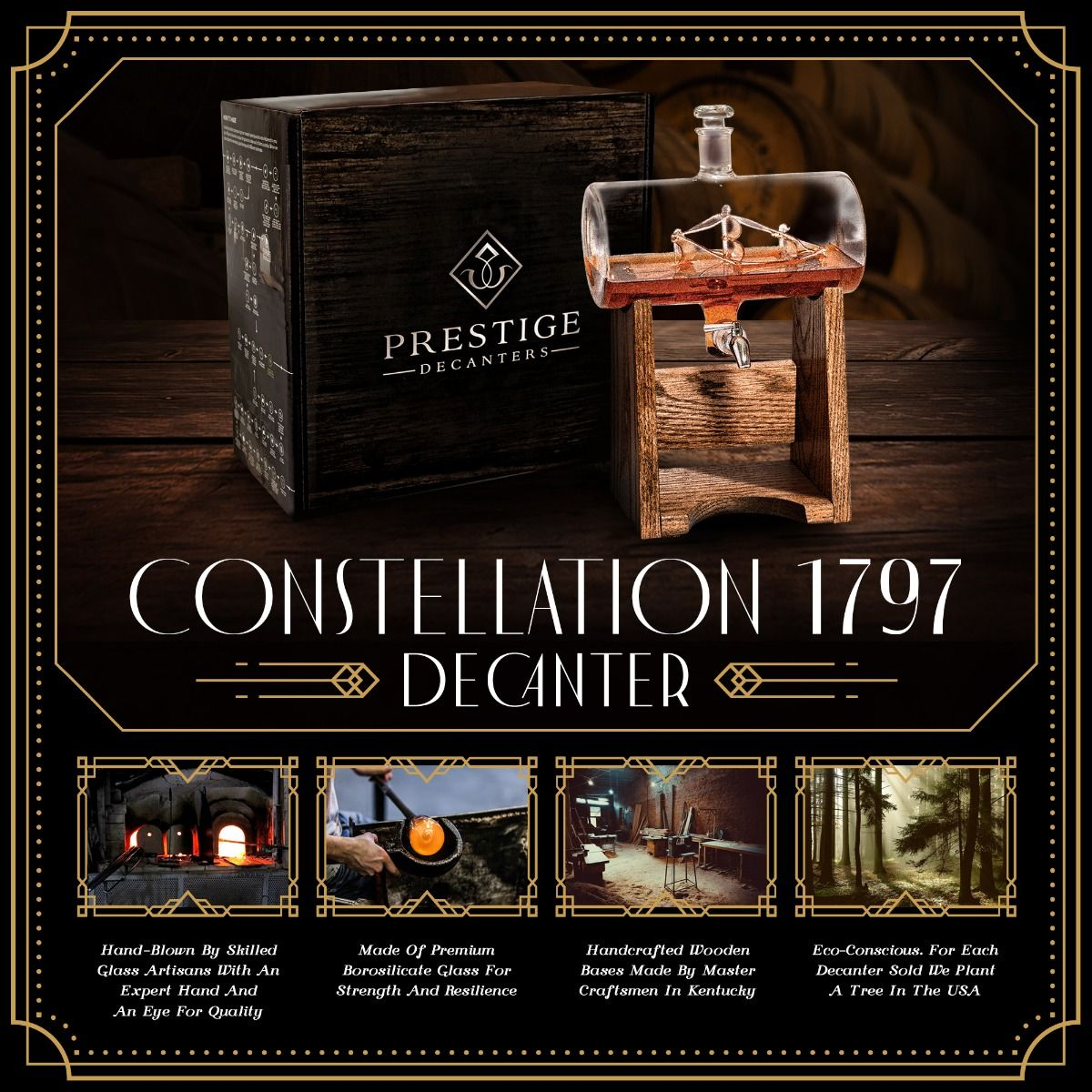 Features of Constellation 1797 Decanter