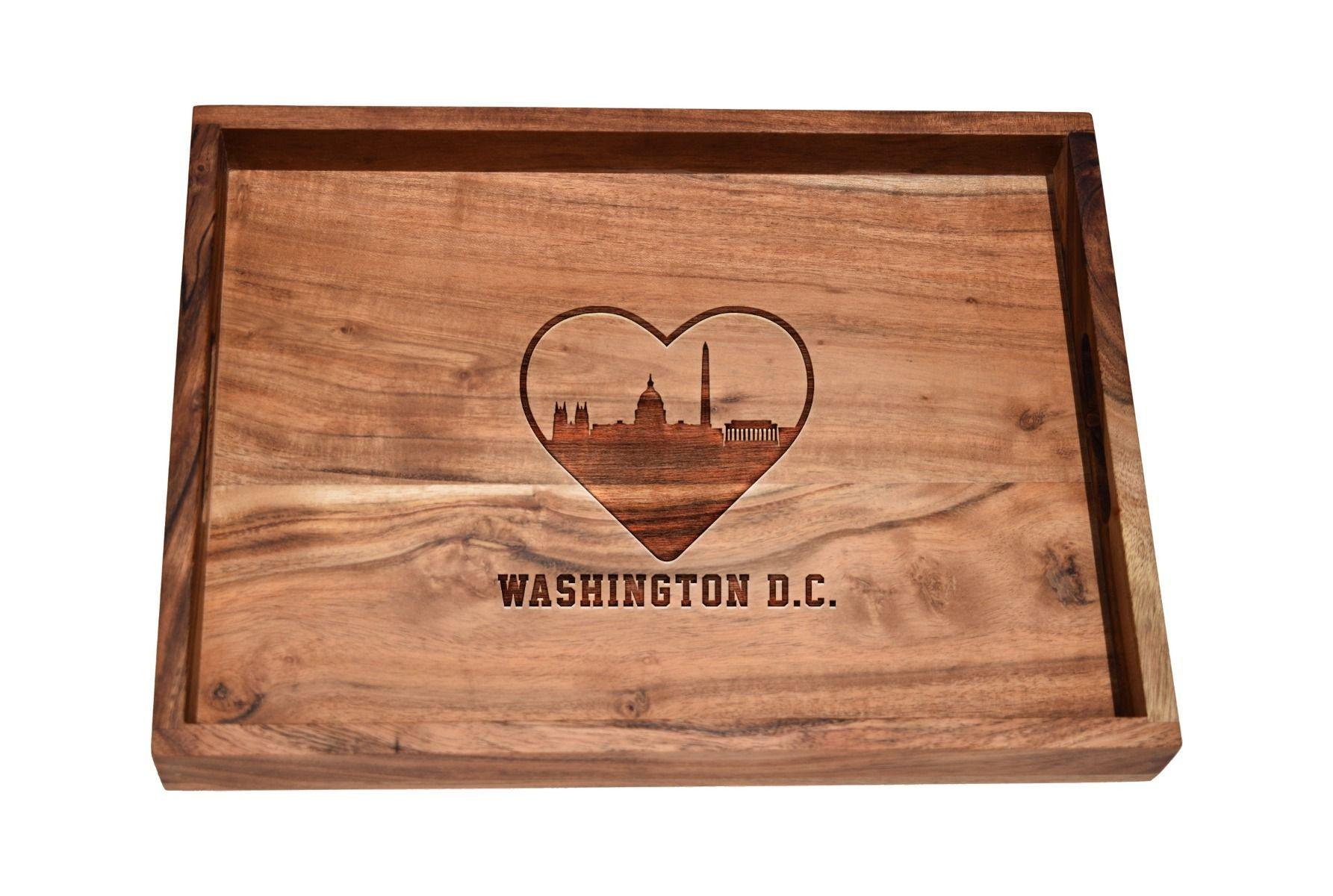 I love Washington D.C. skyline bar tray