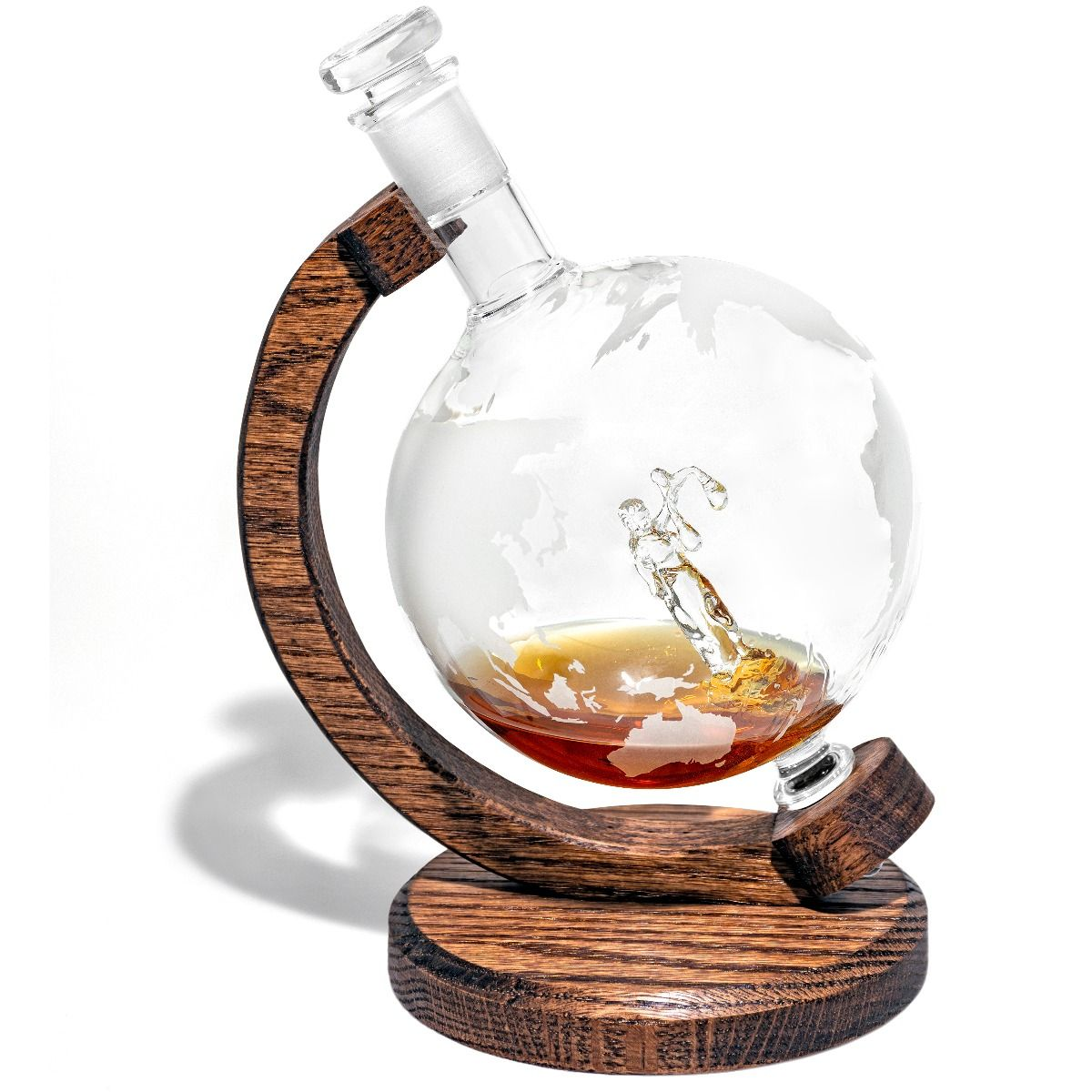 Justia Lady Justice Decanter