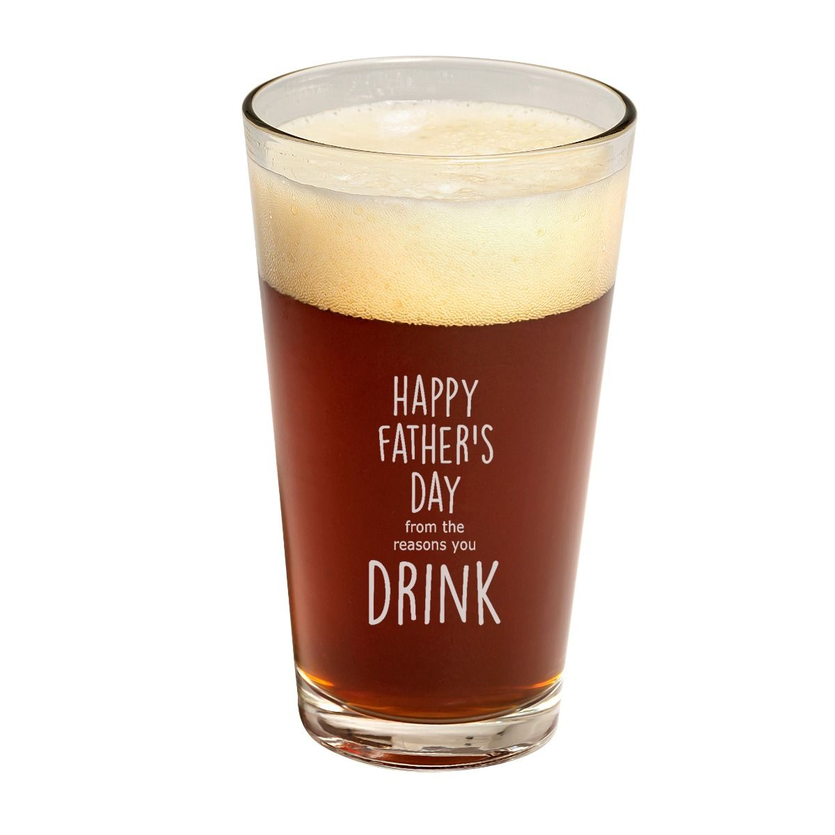 Father's Day Pint GLass