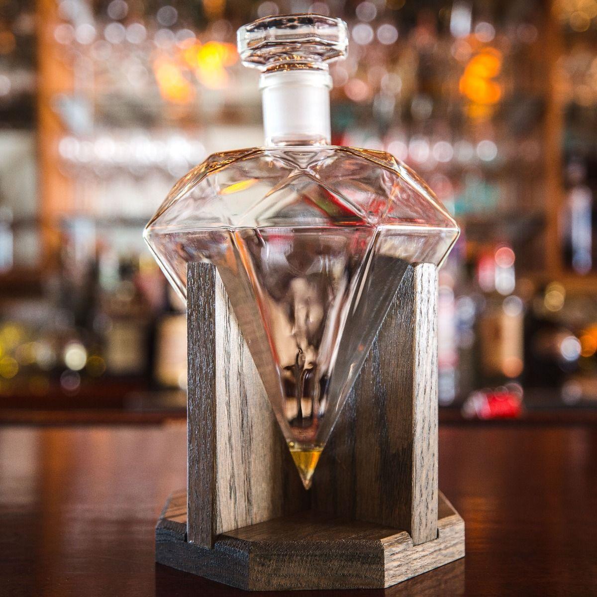 Prestige Decanters diamond shaped decanter