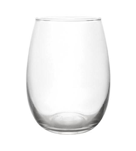 The Prestige Stemless Wine glass