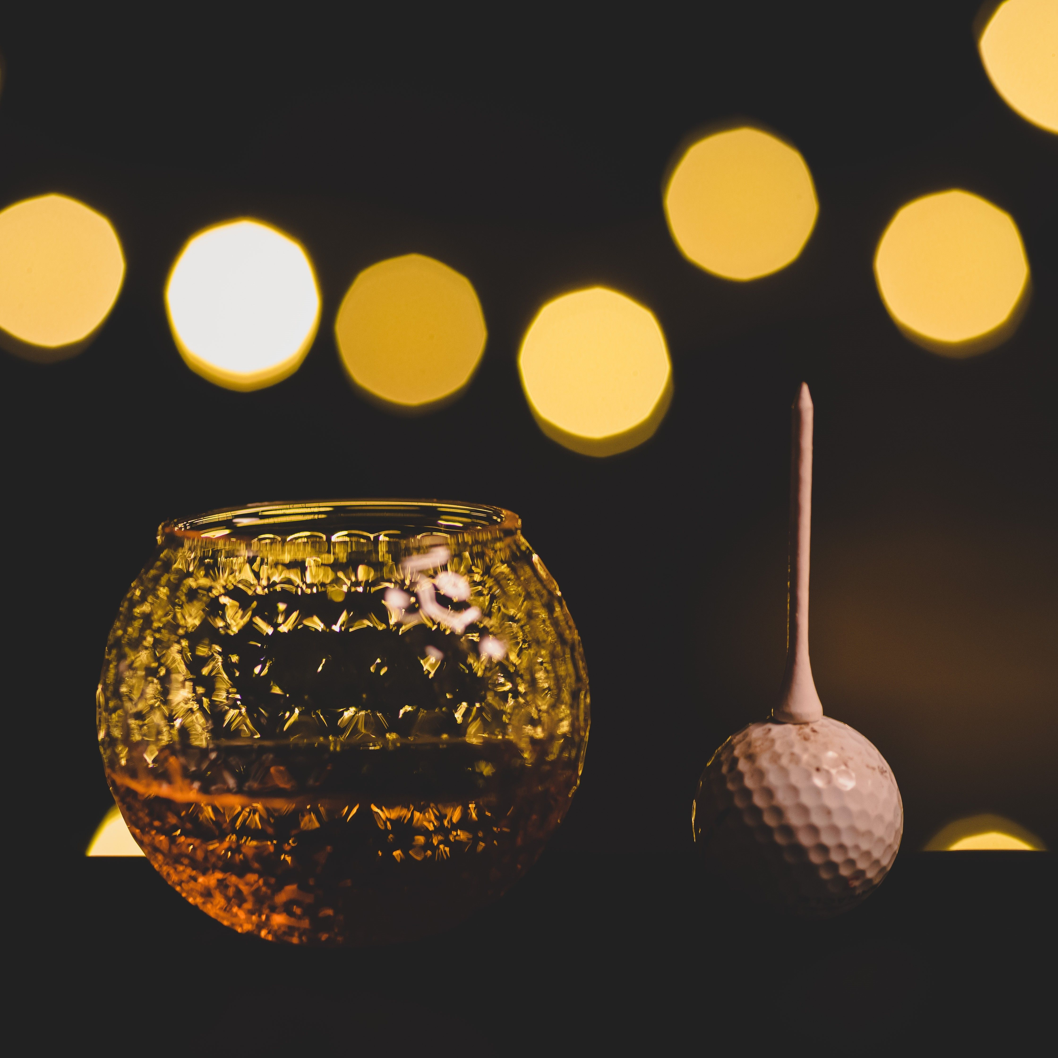 Golf Lovers Gift, Golf Shaped Whiskey Glasses