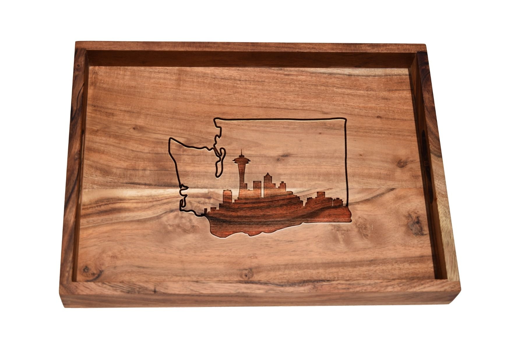 Choose Any Skyline Within or Above State Bar Tray