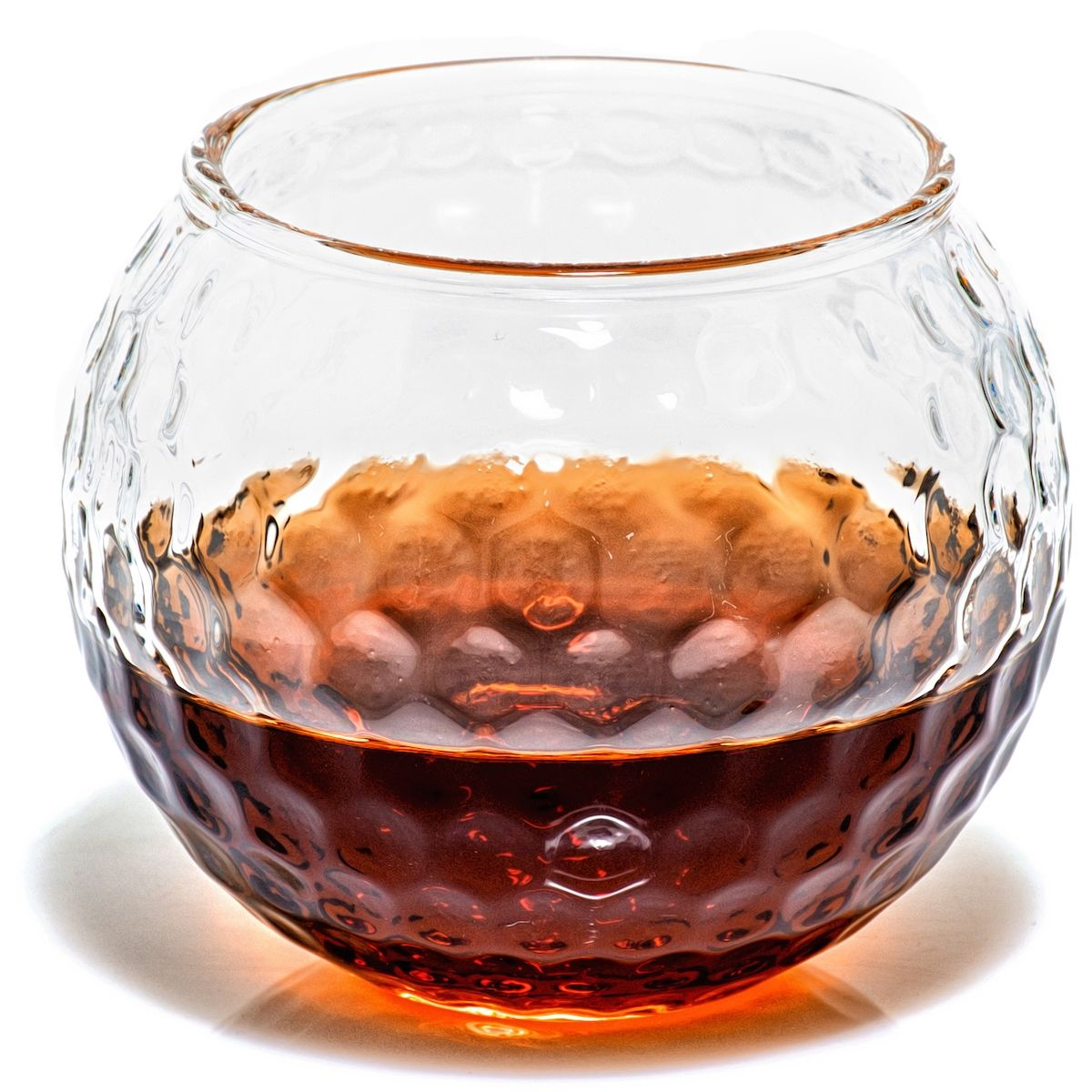 Golf Ball Shaped Whiskey Glasses