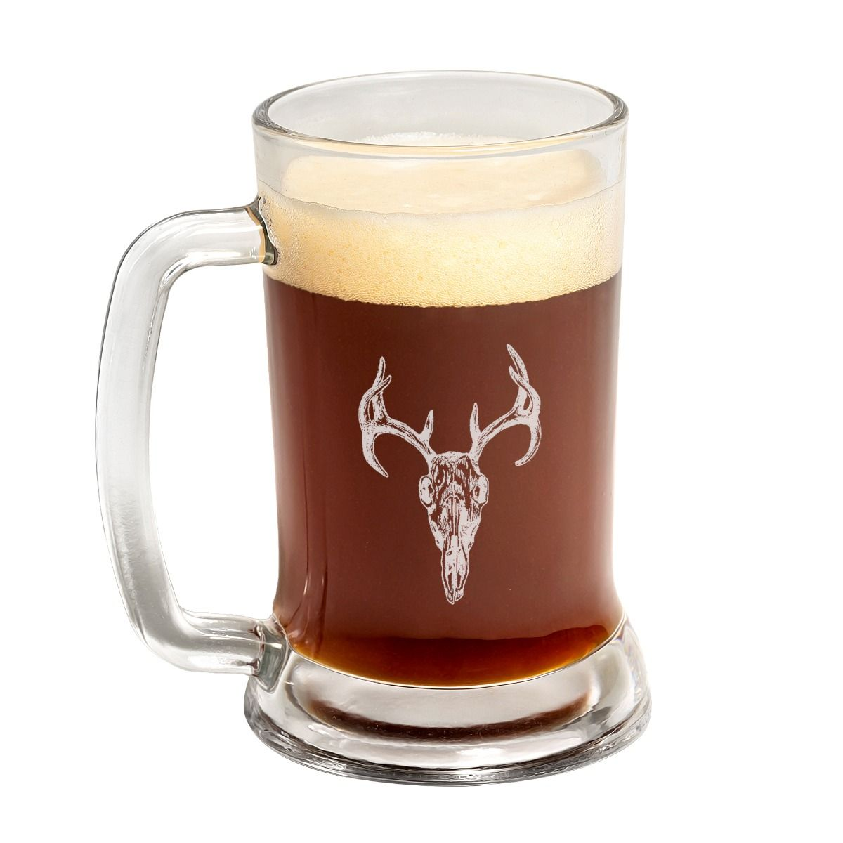 Stag Head Father's Day Beer Mug