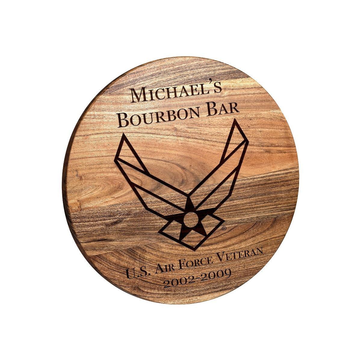 USAF Round Bar Sign