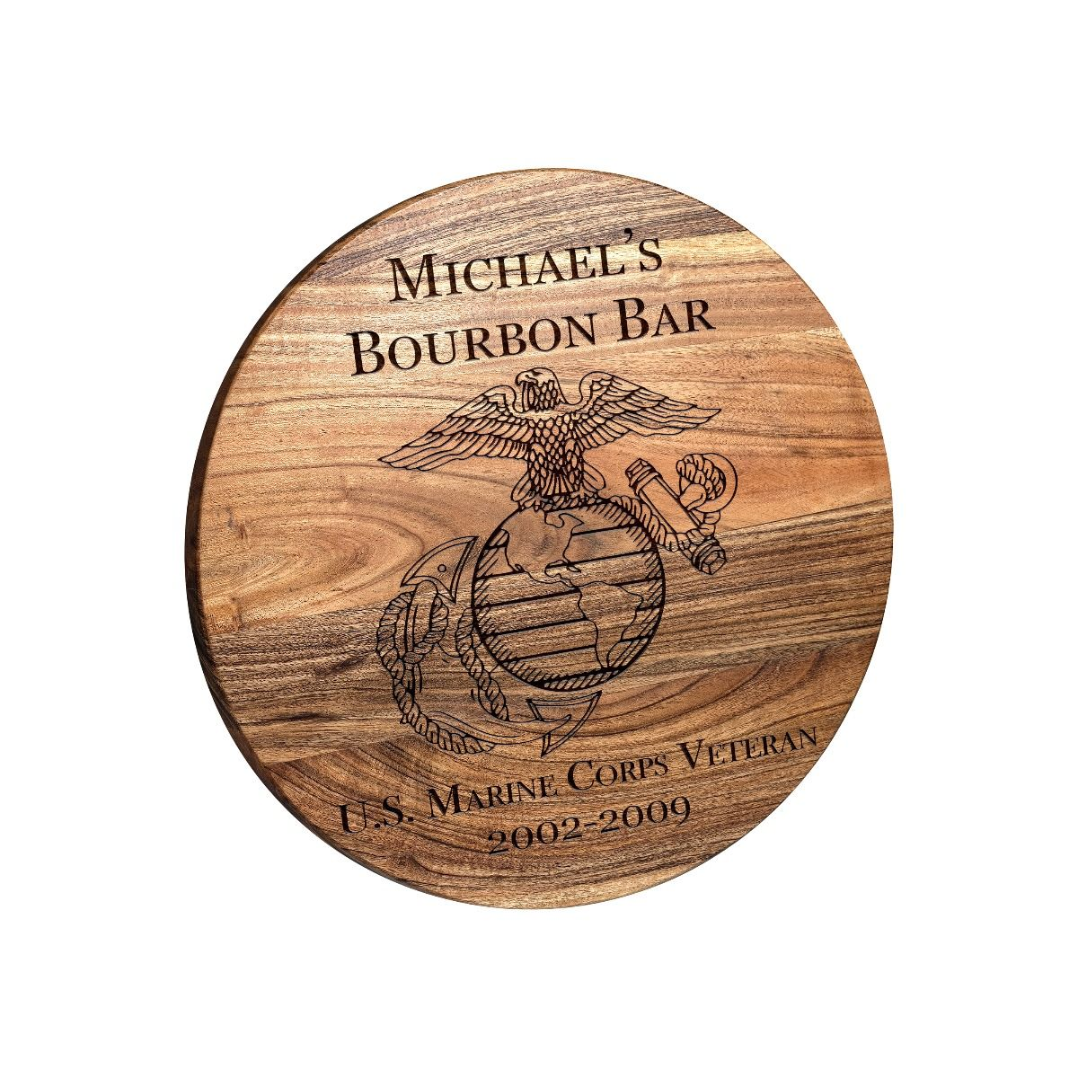 USMC Emblem Bar Sign