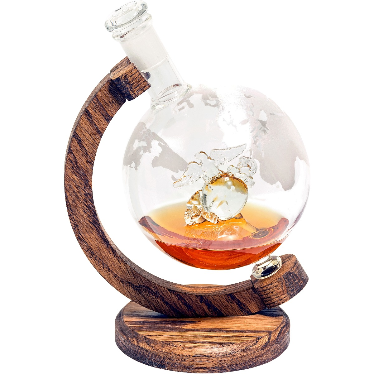 Eagle Globe and Anchor Marines decanter