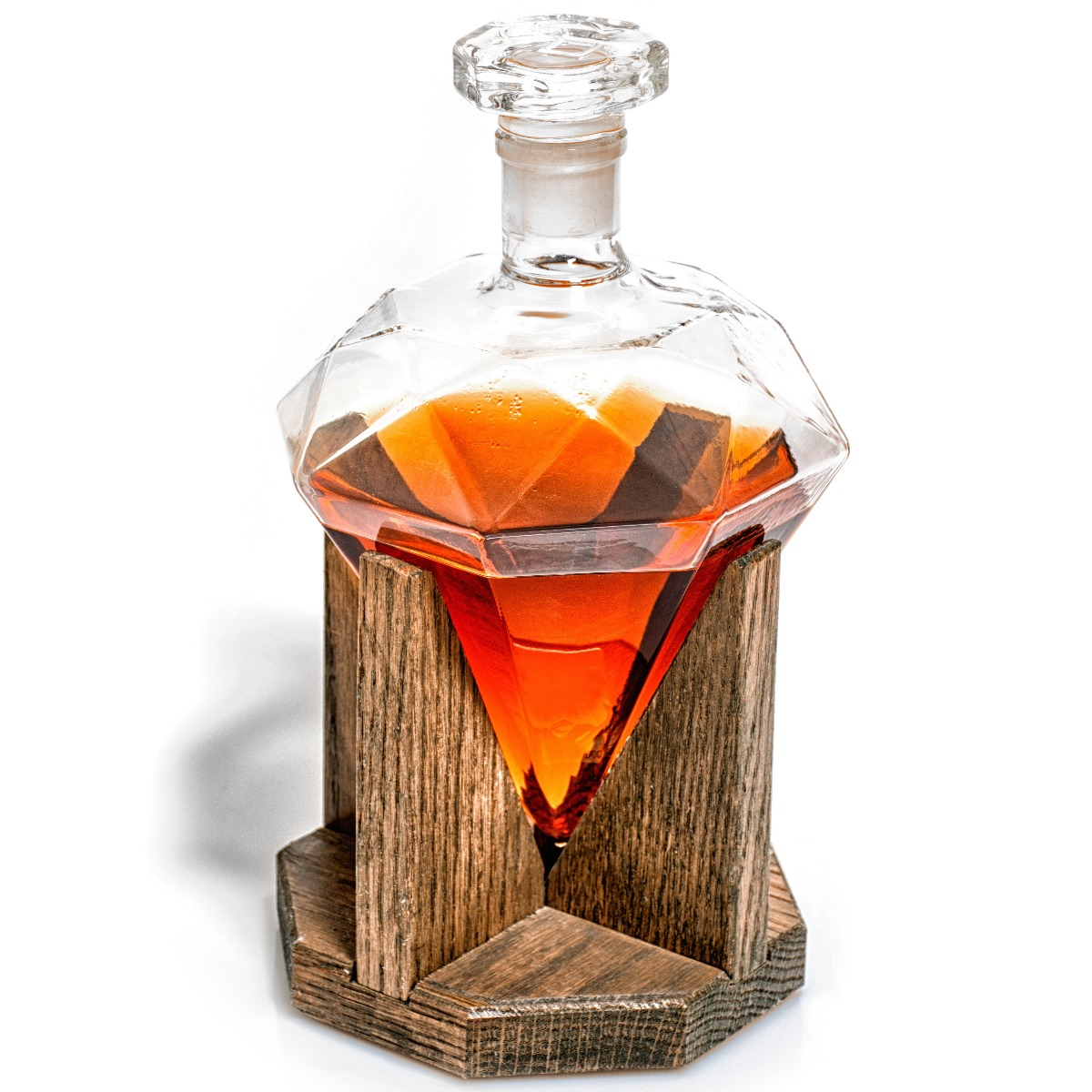 Prestige Decanters Diamond Whiskey Decanter