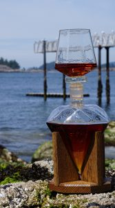 Diamond Whiskey Decanter and Whiskey Glass