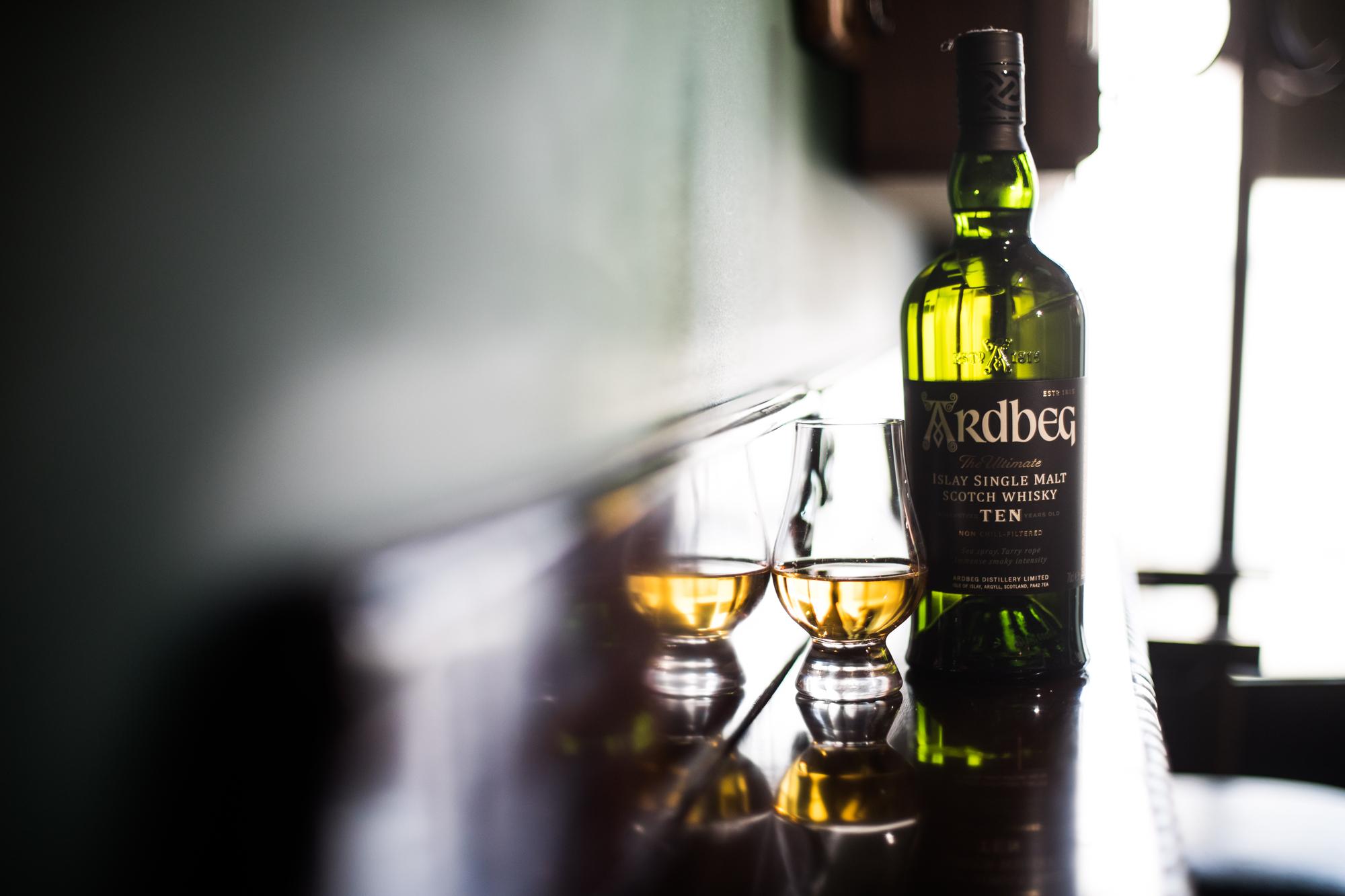 Ardbeg Scotch Whiskey
