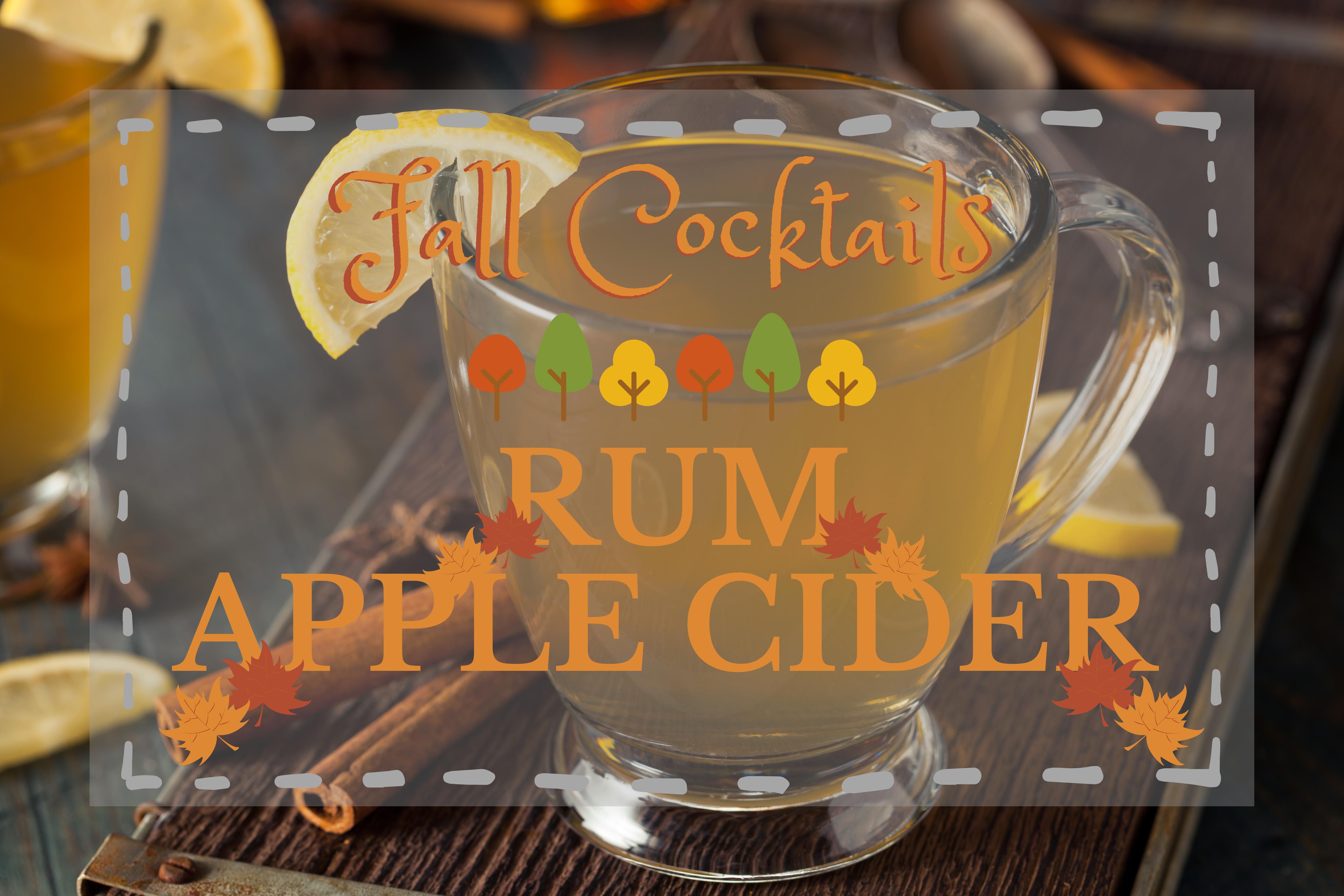 Rum Apple Cider
