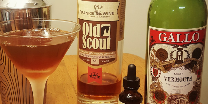 Bourbon Drink Recipes Ingredients for Manhattan