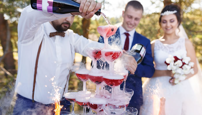 Open Bar Wedding Ideas