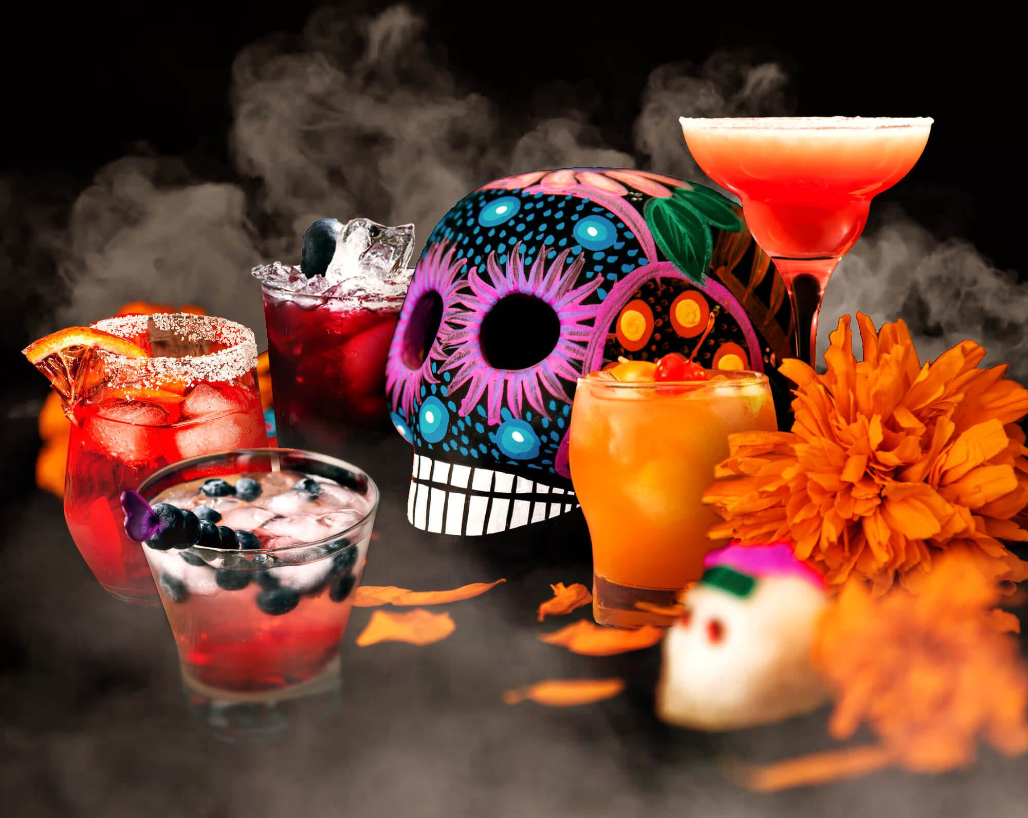Day of the Dead Cocktails