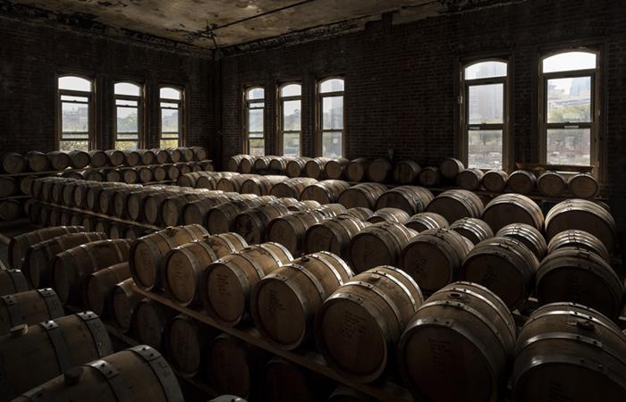 DIY Bourbon Barrel Floor Ideas