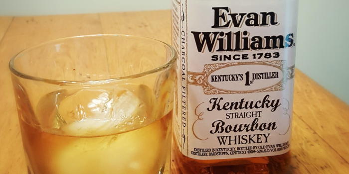 Old-fashioned drink recipe using Evan Williams