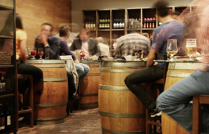 Whiskey Barrel Bar: See These 3 Rocky Steps