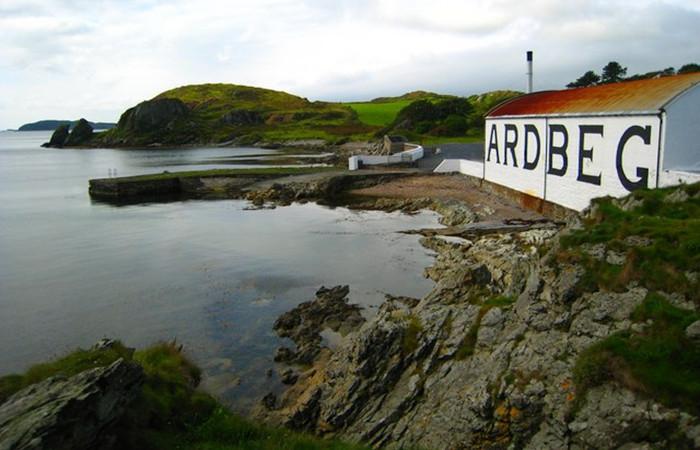 Ardbeg Islay Scotch Distillery