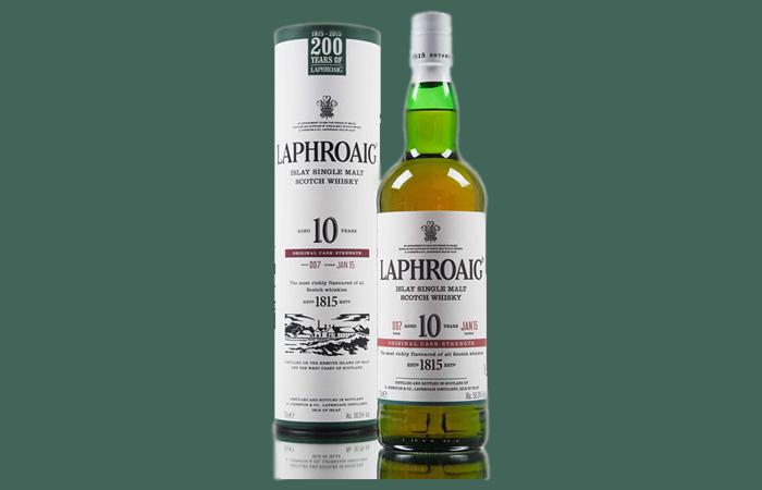 Islay Scotch - Laphroaig 10