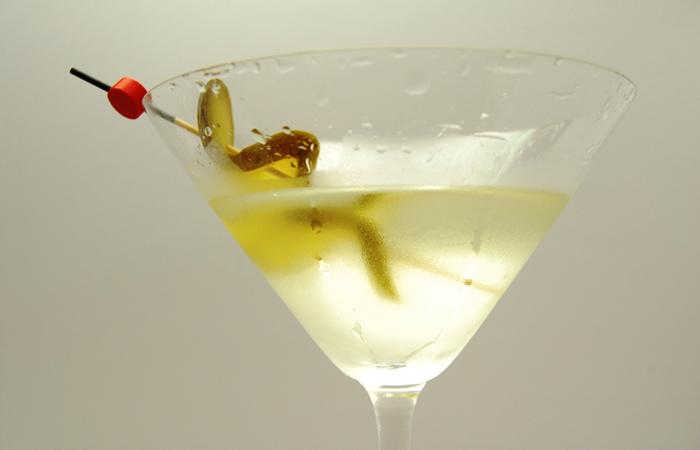 Gin Fig Pickle Martini Recipe