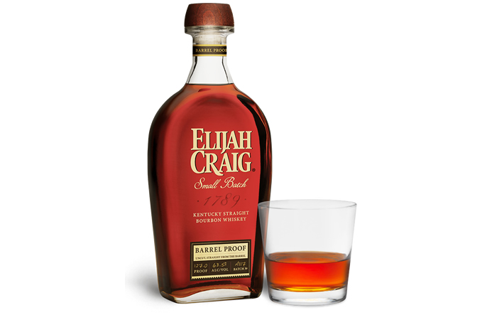 Best sipping whiskey - Elijah Craig Small Batch Barrel Proof.