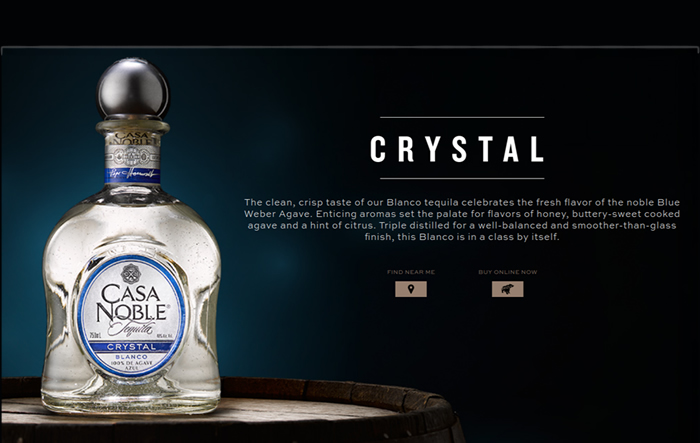 Best Tequila for Margarita - Casa Noble Crystal