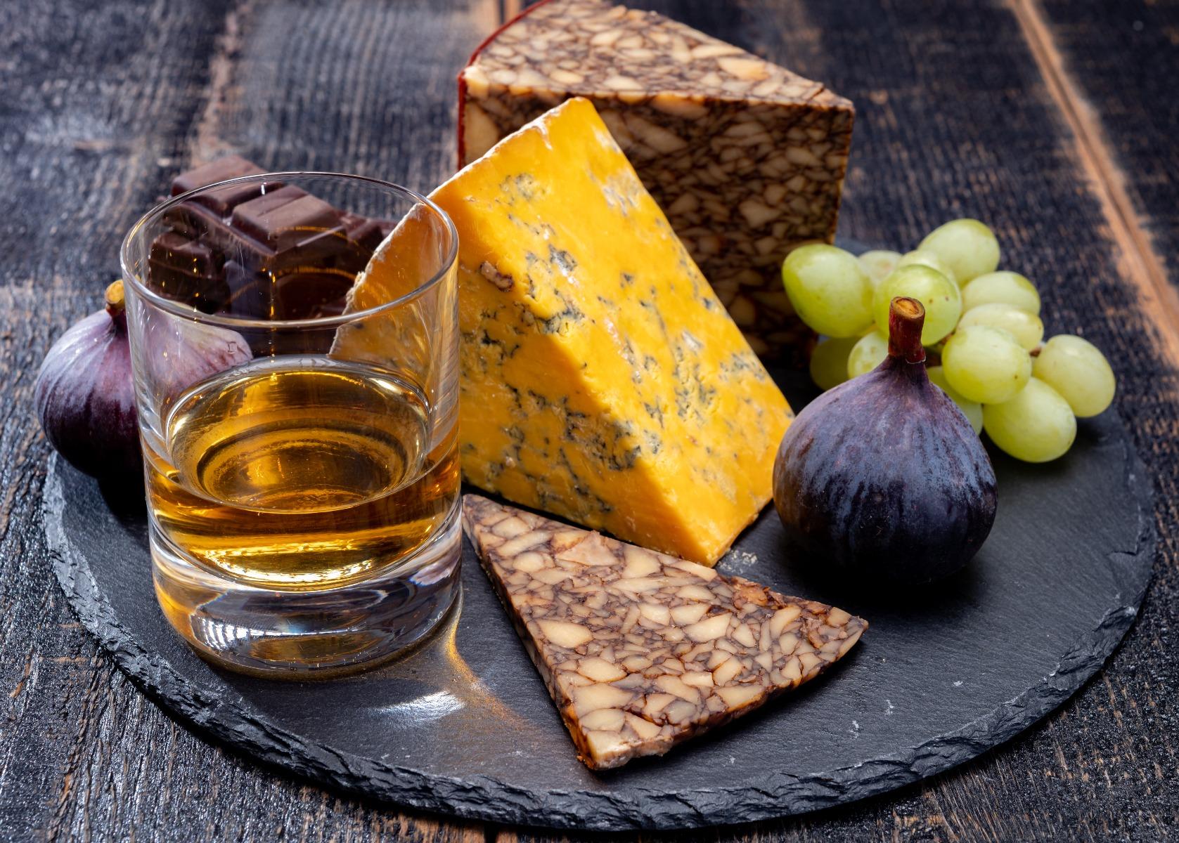Cheese and Bourbon Pairing