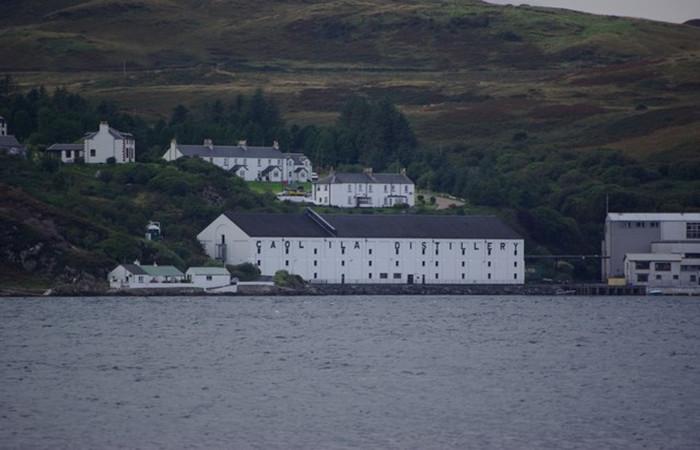 Caol Ila Islay Scotch Distillery