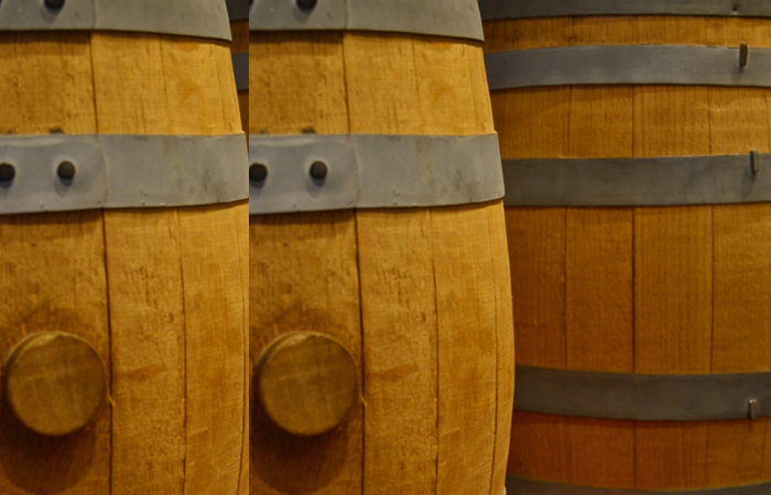 Old whiskey barrels are new gems