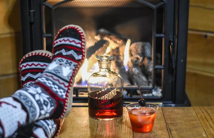 Fall cocktails - fireside cocktails