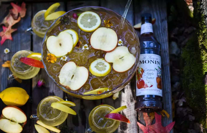 Fall cocktails - a gold medal worthy punch
