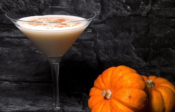 Fall cocktails - pumpkin spice