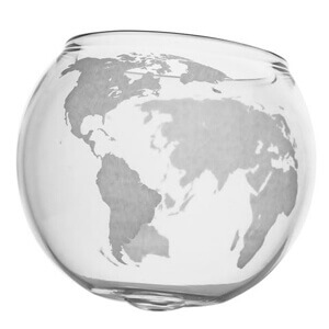 globe cup decanter