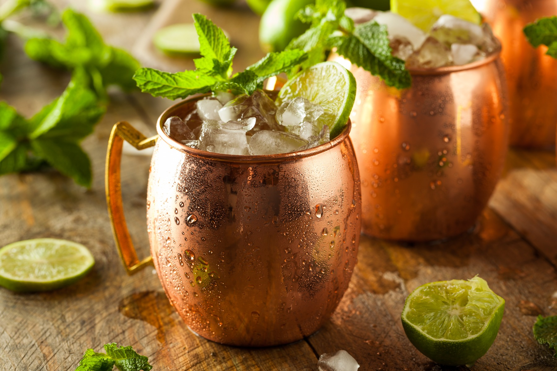 Mnoscow Mule Cocktails