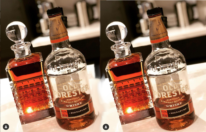 Old Forester and a Decanter