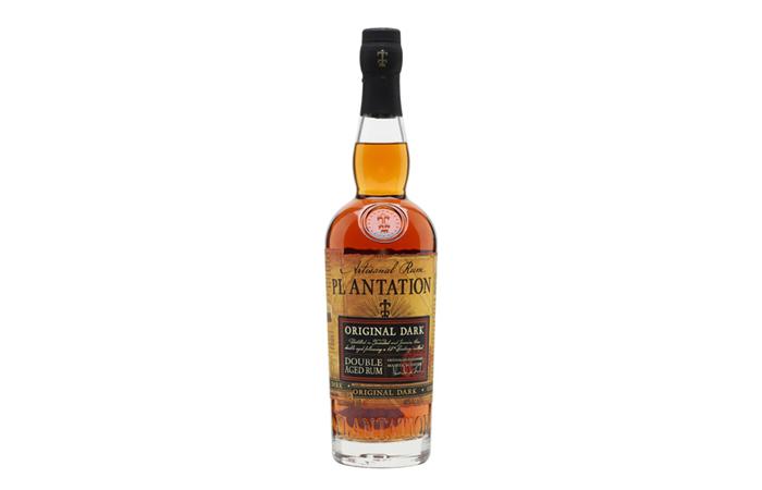 Plantation Original Dark (blend of rums from Barbados and Jamaica)