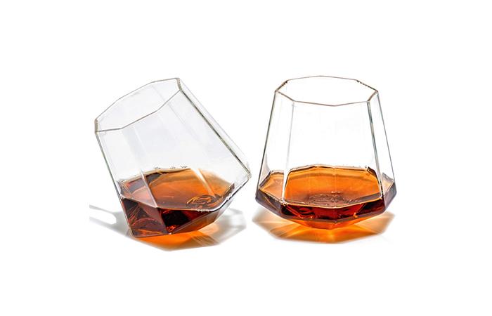 Prestige Diamond Shaped Whiskey Glasses