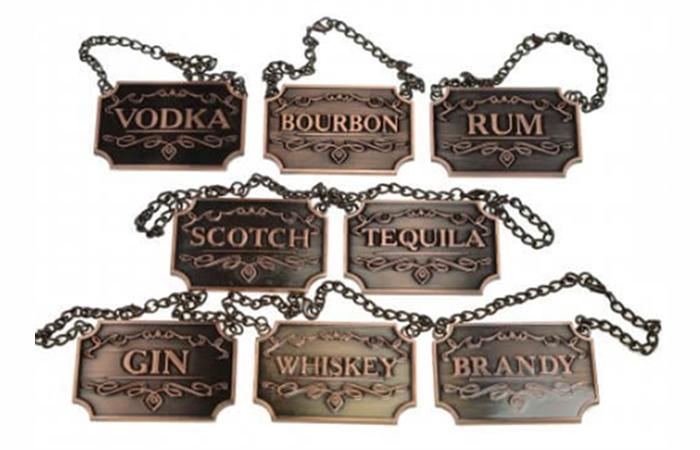 Prestige Liquor Tags